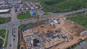 LINK CONSTRUCTION UPDATE – CONCRETE SLAB, BACK FILLING AND CONSTRUCTION MILESTONES!