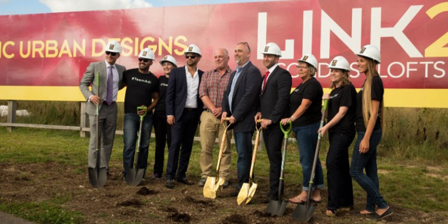 LINK HAS OFFICIALLY BROKE GROUND!