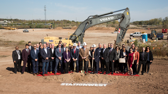 STATIONWEST COMMUNITY BREAKS GROUND