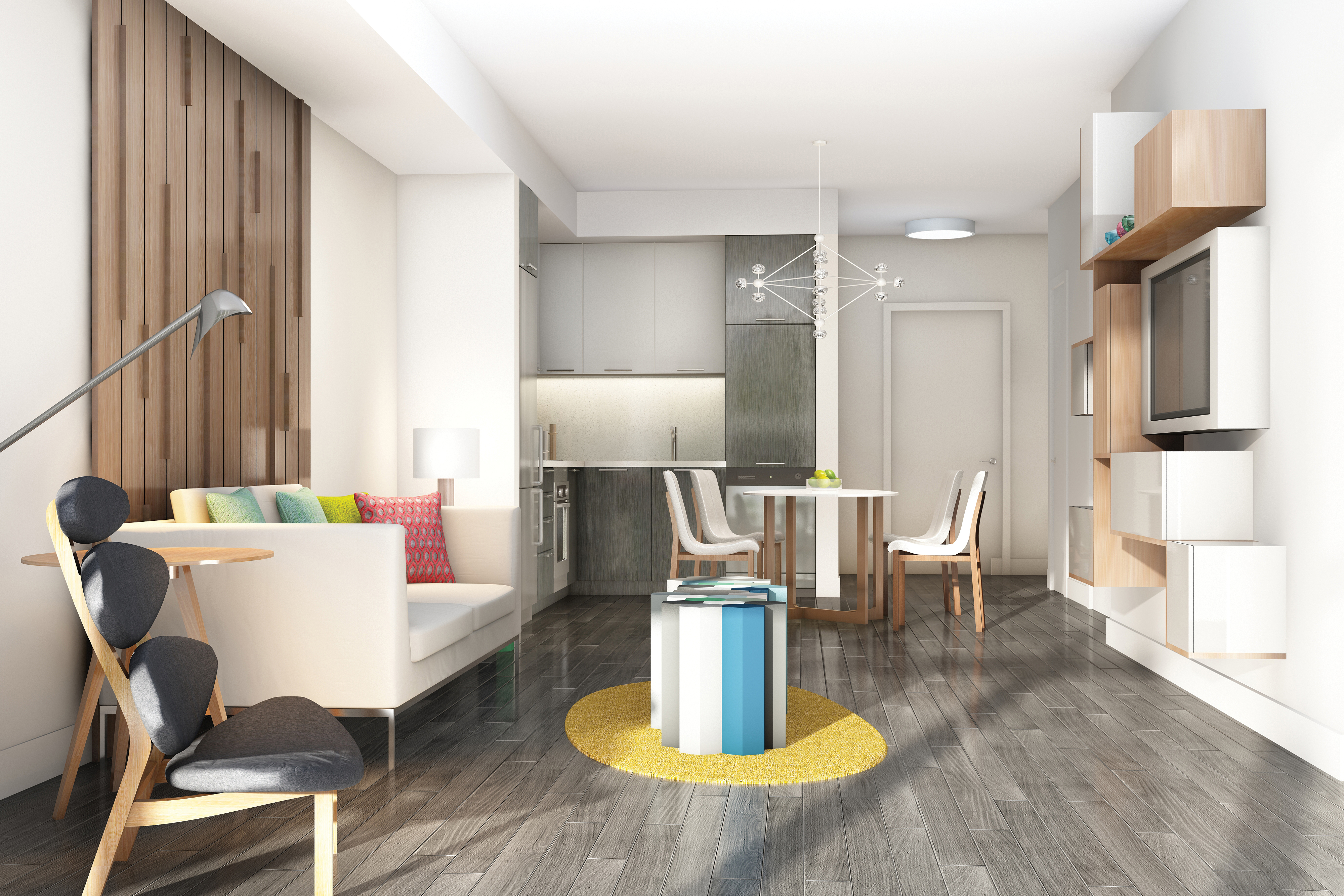 Adi's exclusive IntelliSpace design delivers open-concept living and entertaining areas to ensure living space, modern style, comfort and superior quality