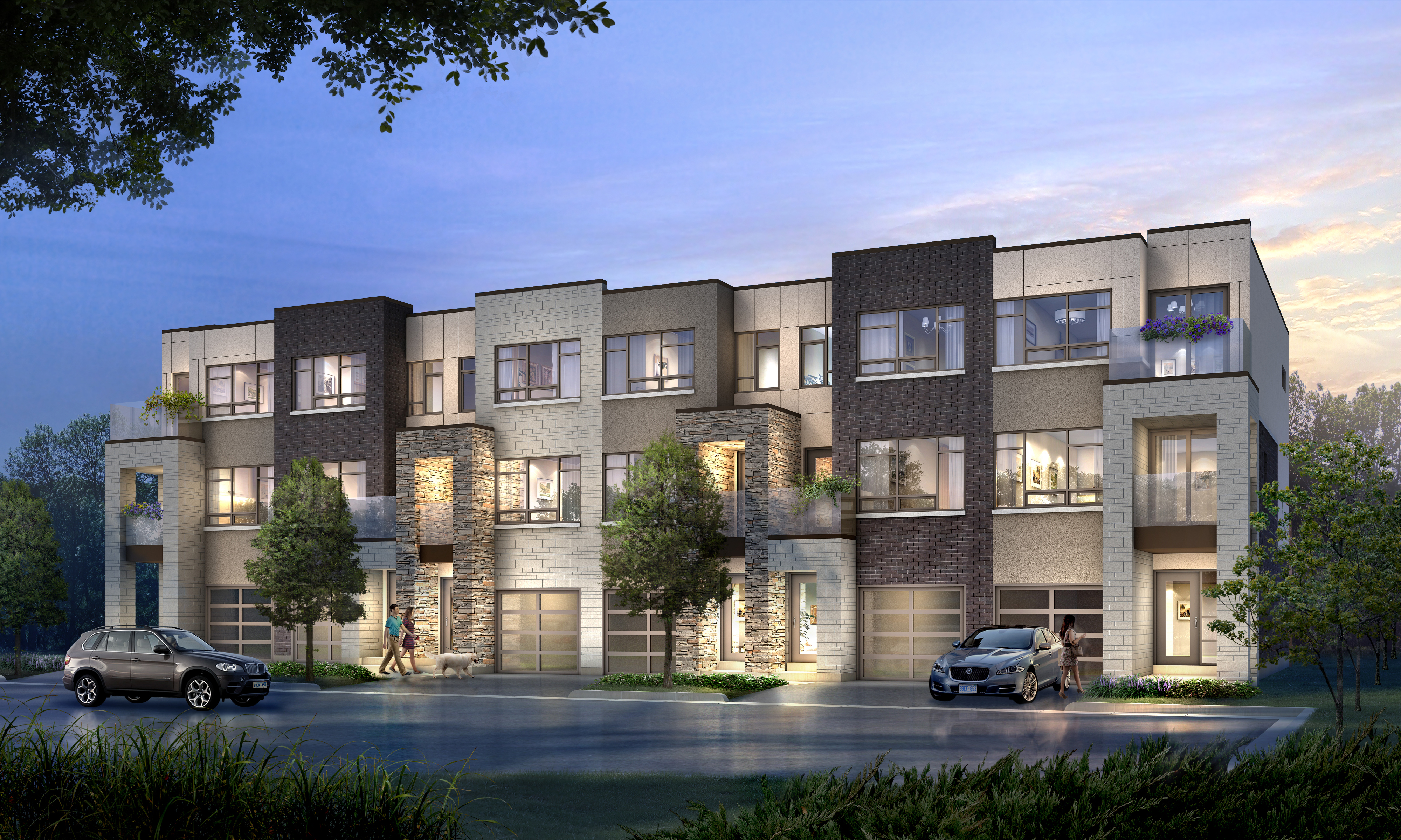 London Collection at Stationwest – Traditional Townhomes
