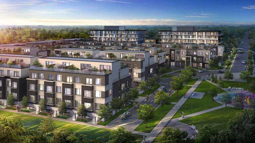 Live in an idyllically located master-planned community connected to a central park and the Aldershot GO Station.