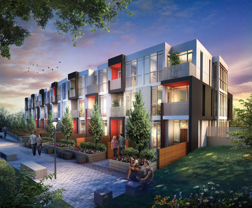 Two-storey townhomes offers the flexibility of condo living allowing you to lock up and  be on your way