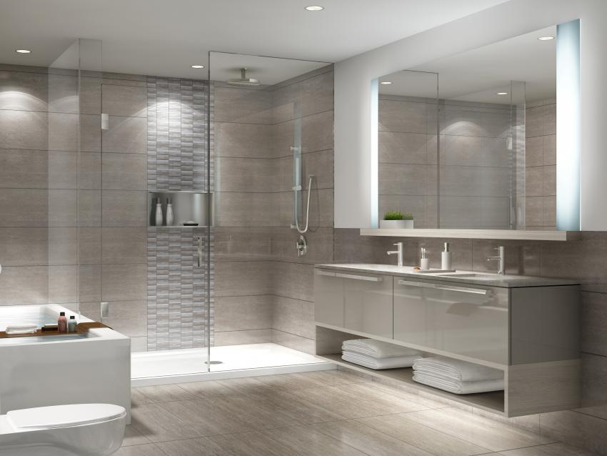Chicago Collection – Pampering ensuites offer the perfect relaxing getaway