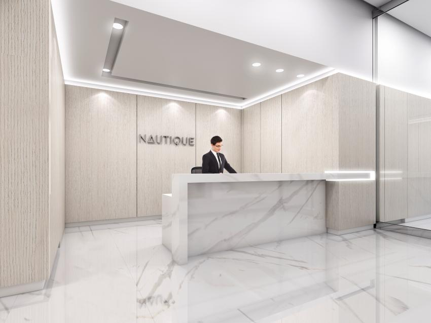 Enter Nautique off Martha Street at Lakeshore Road, leaving the vivacity of Downtown Burlington behind and let the concierge help bring your belongs to your suite.