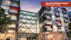 New Home & Condo Guide - Adi Development Group makes the LINK between contemporary architecture and nature in Burlington