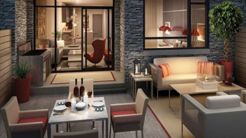 Globe and Mail - Toronto condos short in stature but long on style