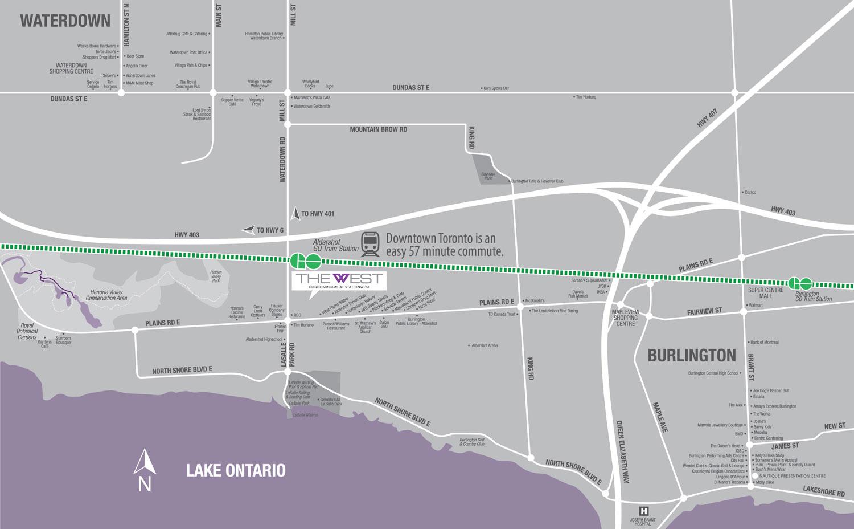 The West Neighbourhood Map