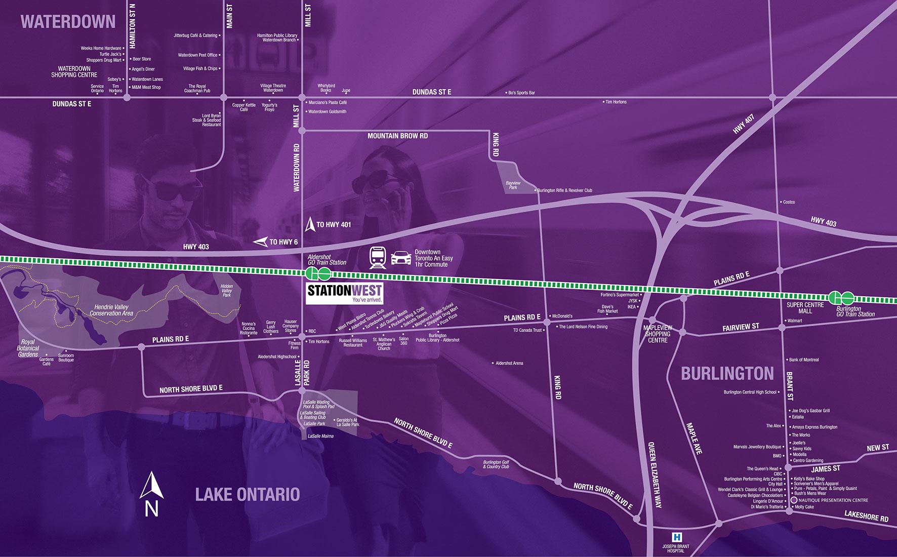 Stationwest Neighbourhood Map