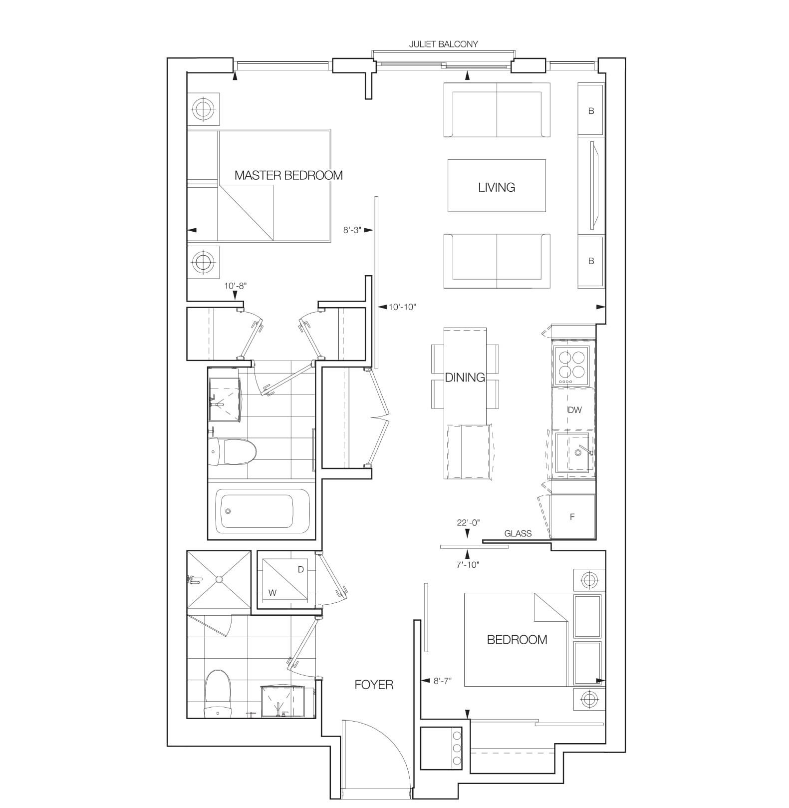 Assana Floorplans