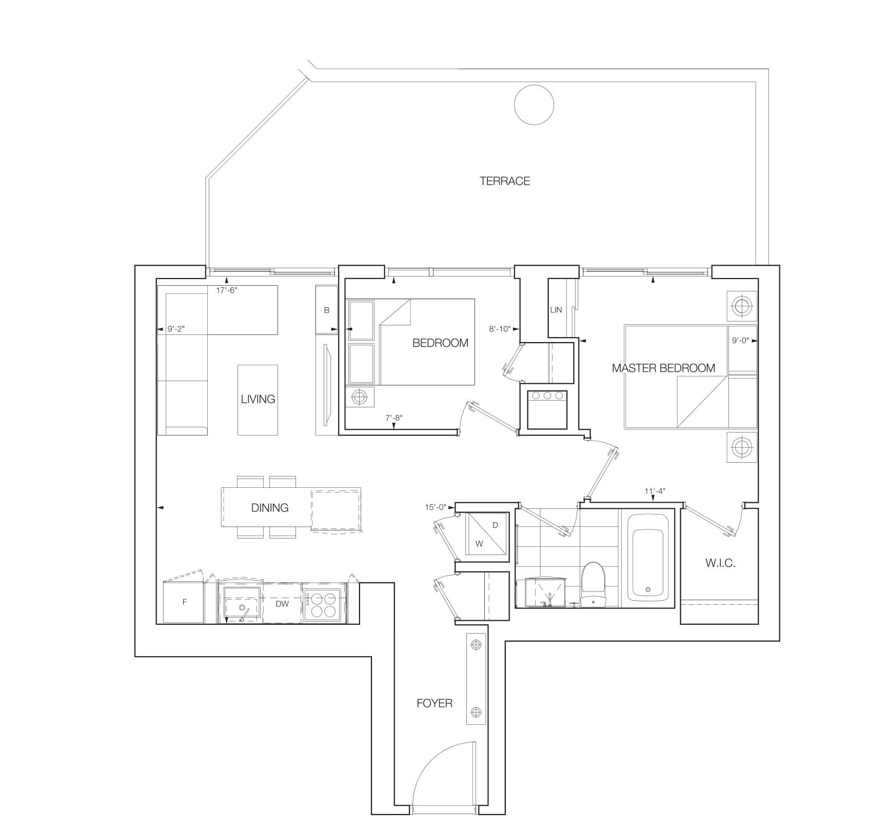Navitus Floorplans