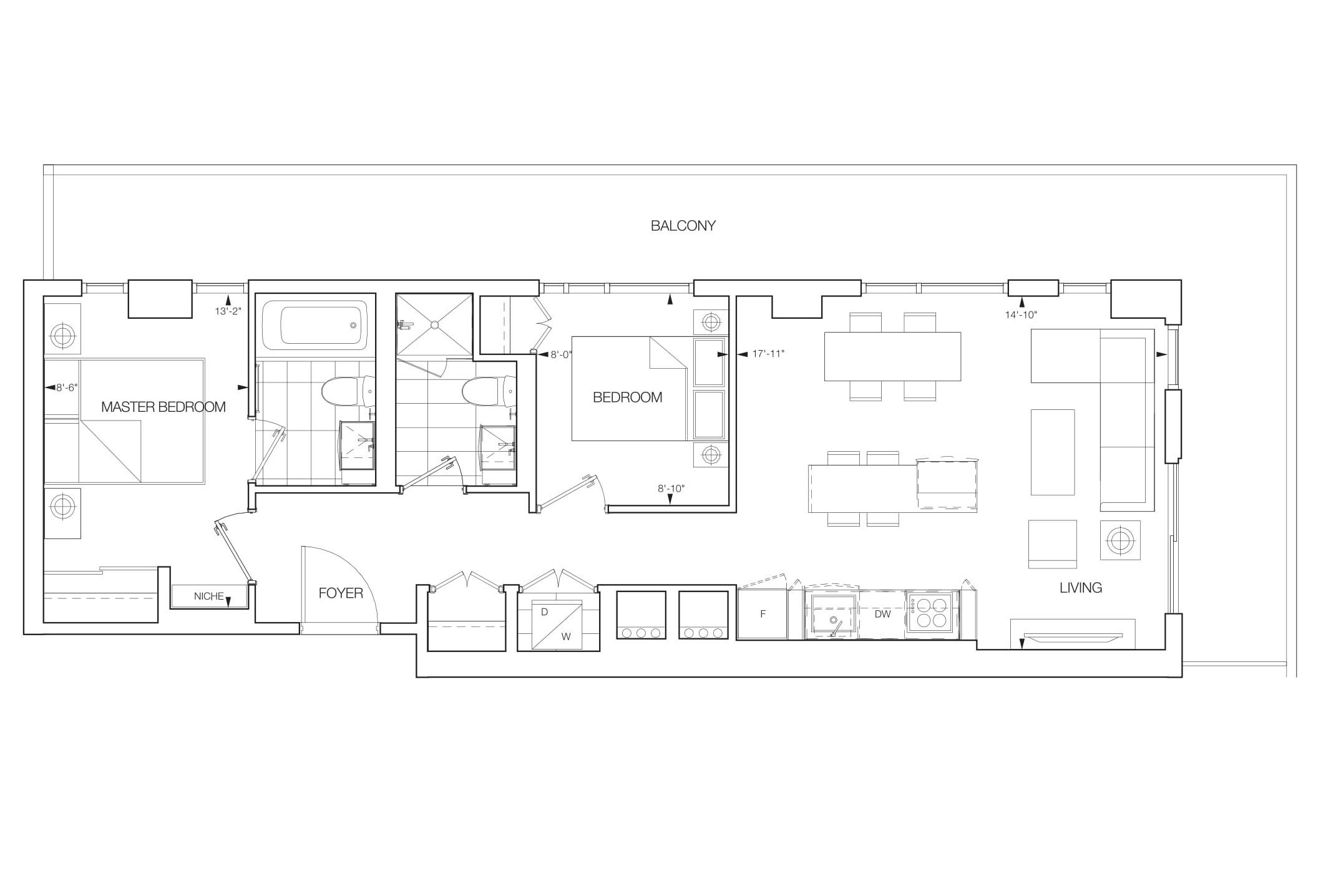 Celeste Floorplans