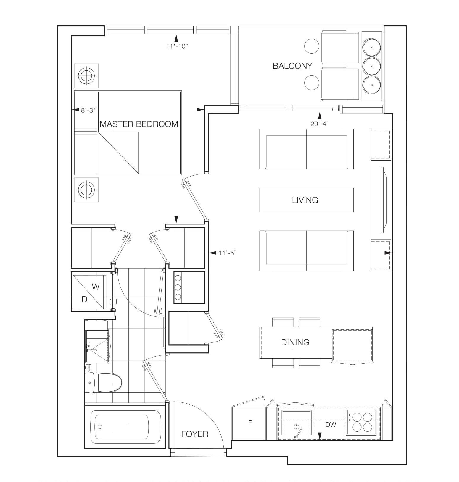 Vista Floor Plan