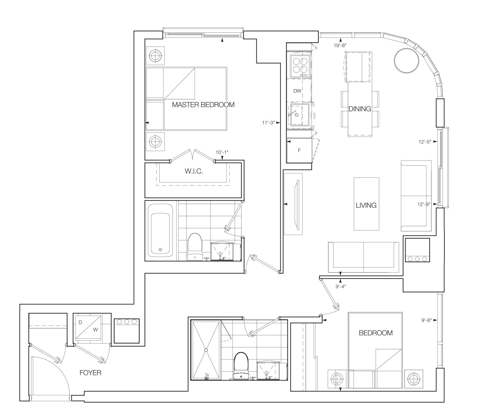 Sirena Floorplans