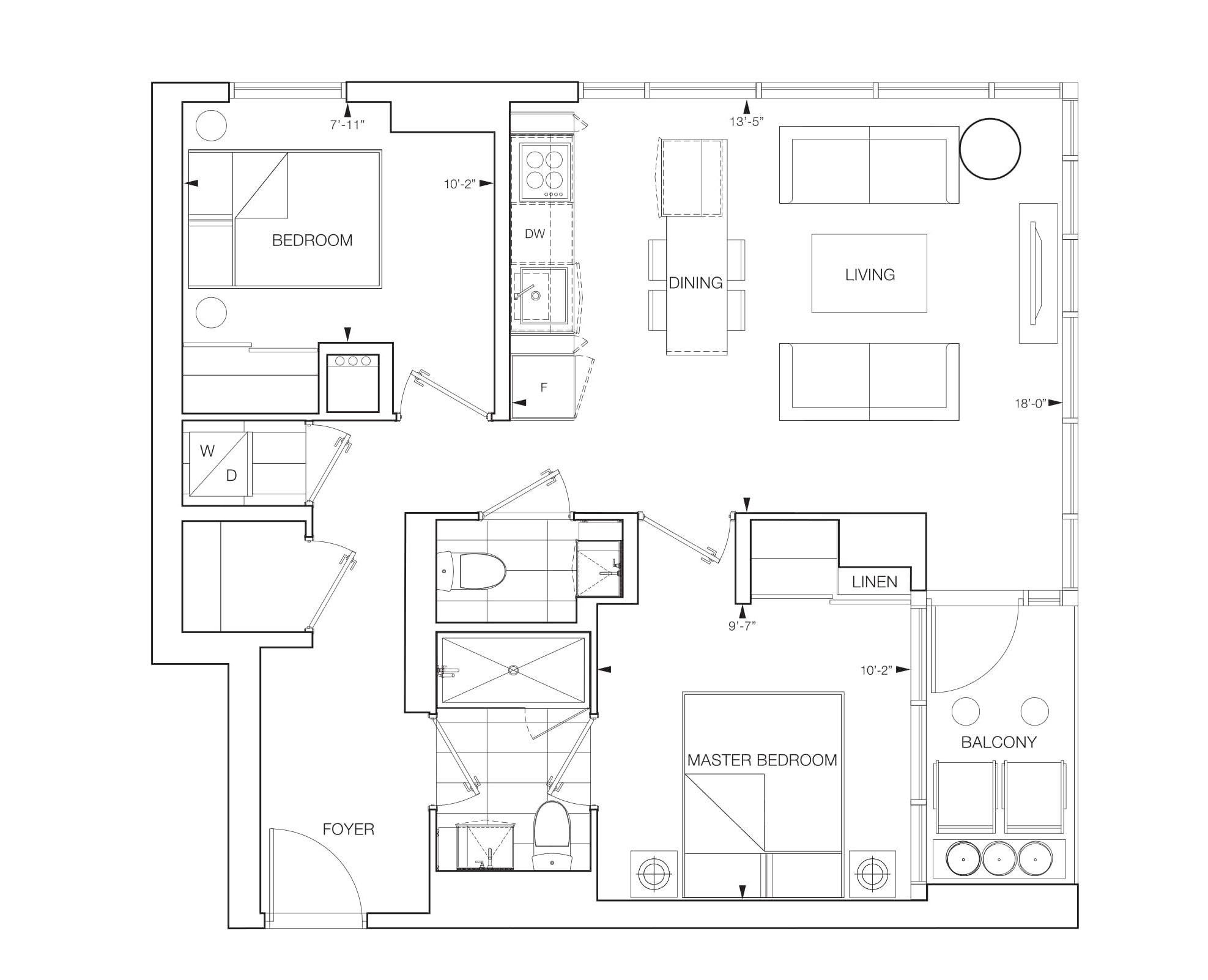 Vertex Floorplans