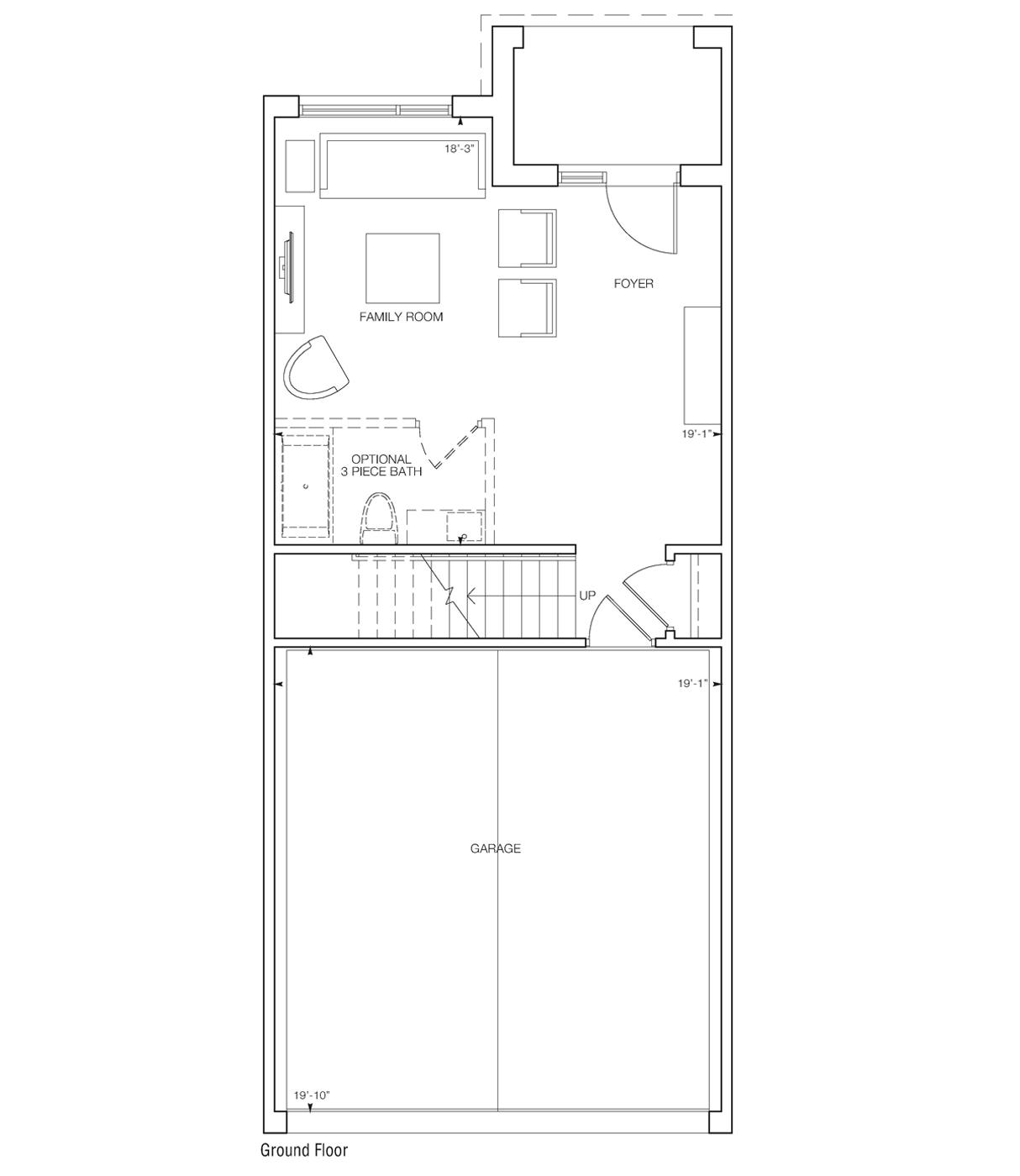 Turro Family Suite Floor Plan