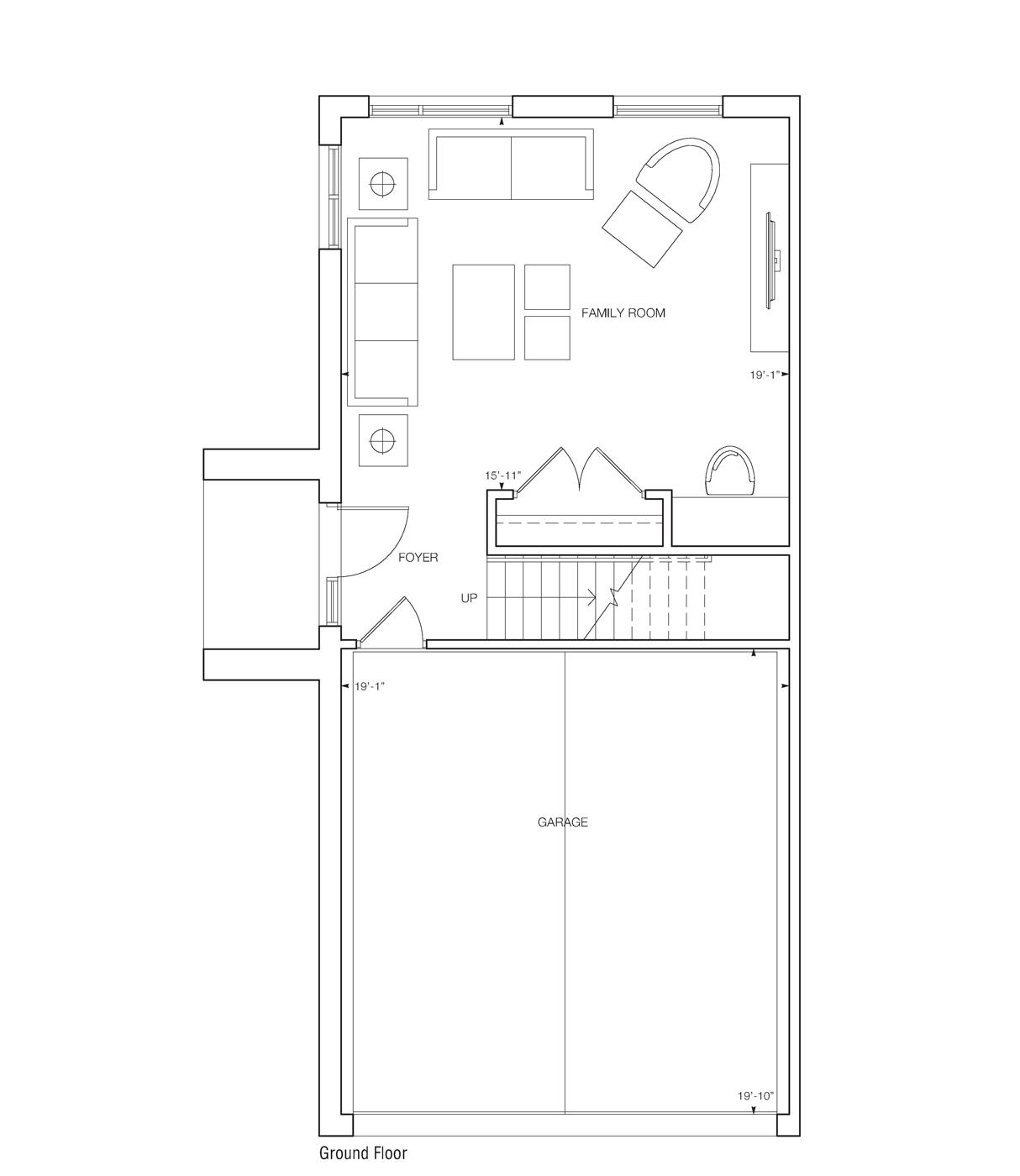 Saranno Floor Plan Family Room