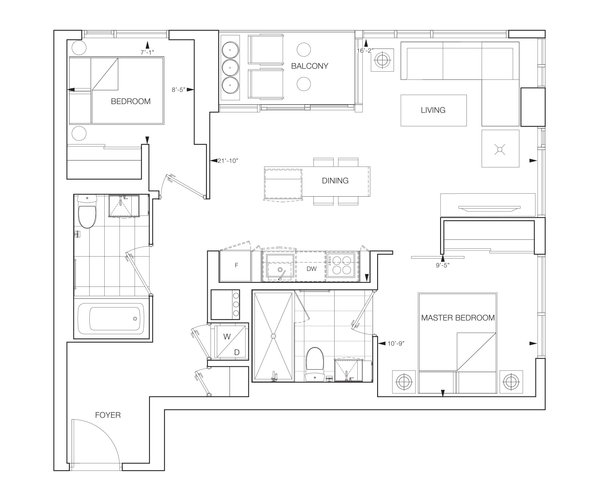 Vesi Floorplans