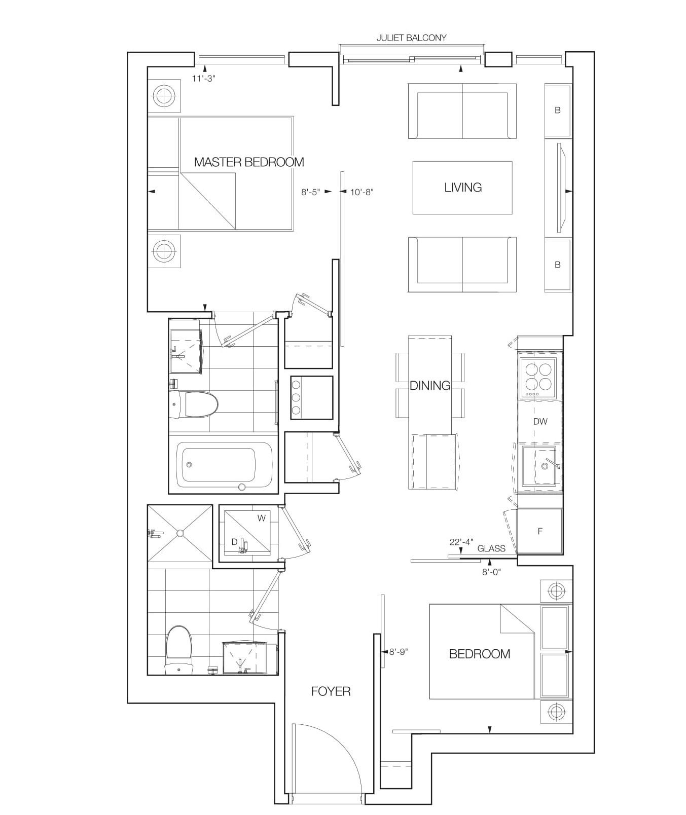 Lana Floorplans