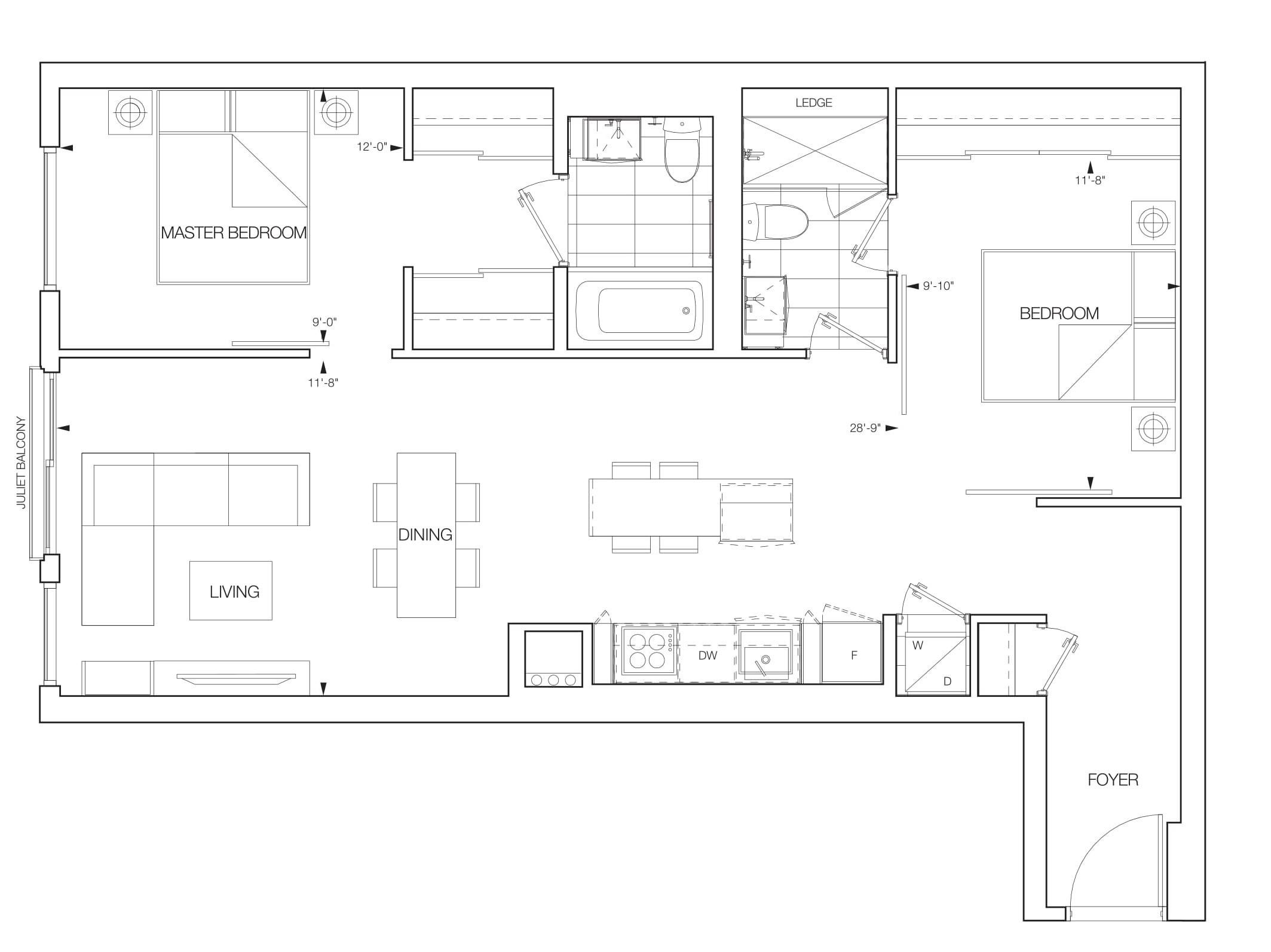 Synchro Suite Floorplans