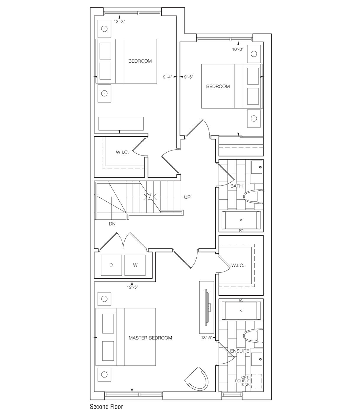 Loreto Bedroom Floorplans