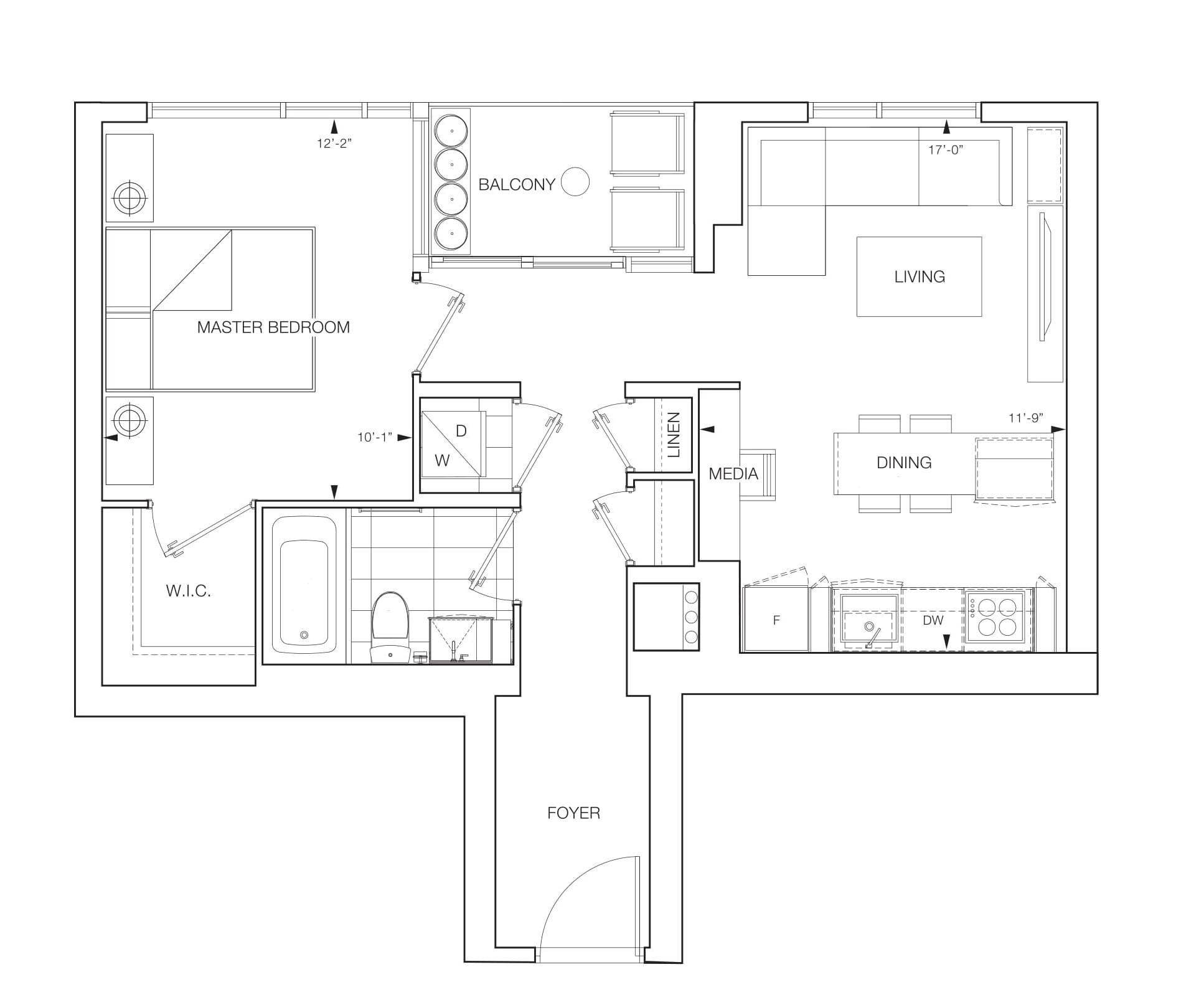 Aura Floorplans