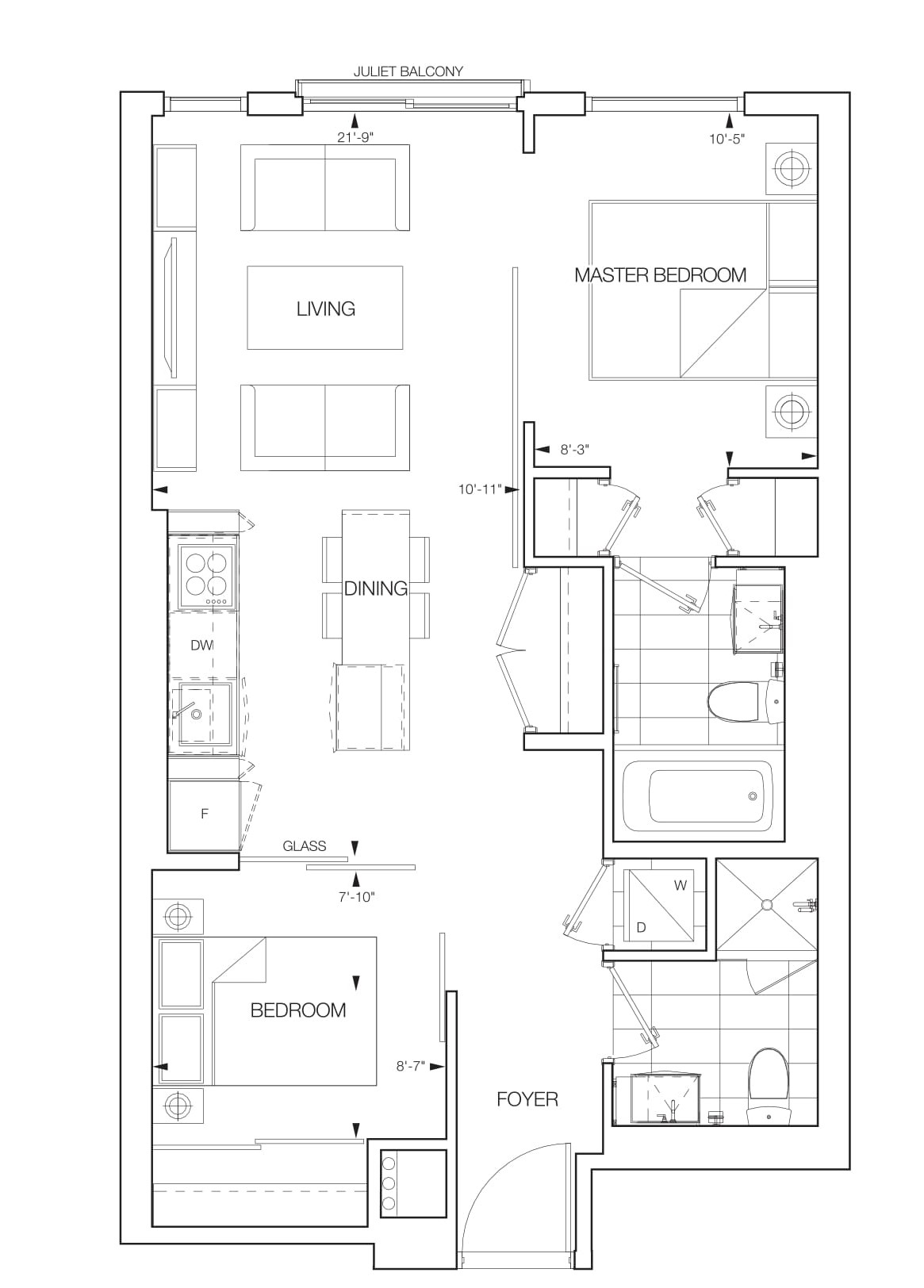 Riva Floorplans